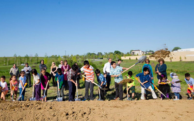 'Welcome to a place built by dreamers': Ground Broken for Mosque at Omaha Interfaith Site