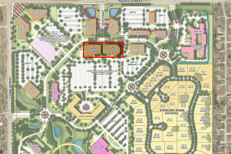 Office Building C & D Map